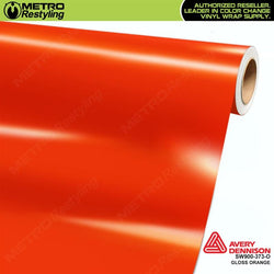 avery dennison gloss orange