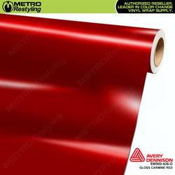 avery dennison gloss carmine red