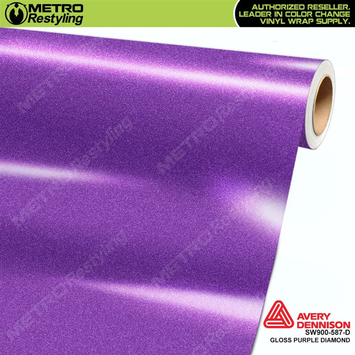 avery dennison diamond purple