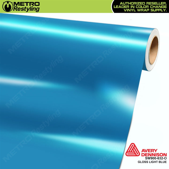 avery dennison gloss light blue