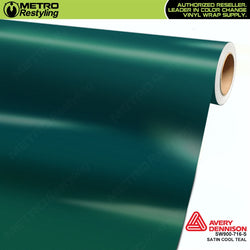 avery dennison satin cool teal