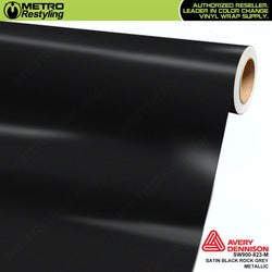 avery dennison satin black rock gray metallic