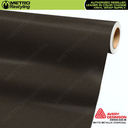 avery dennison matte metallic charcoal