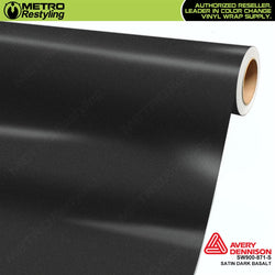 avery dennison satin dark basalt