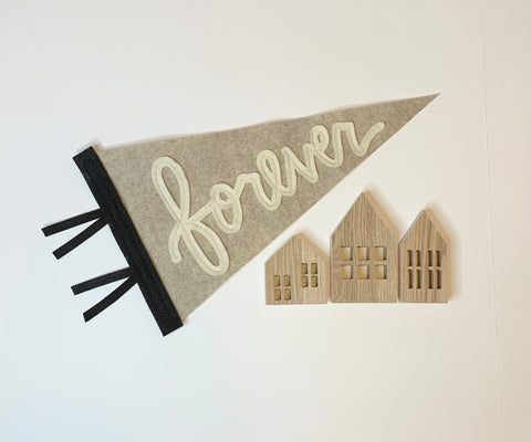 'forever' Pennant - Eventide Pennant Co.