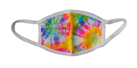 Rainbow Tie-Dye Face Mask