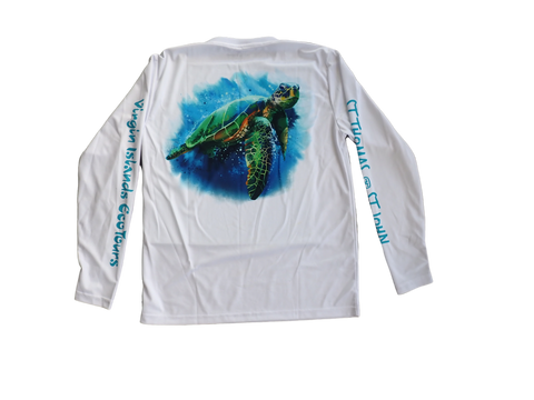 Green Sea Turtle Rash Guard