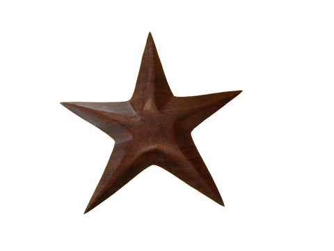 Wooden Starfish Figurine