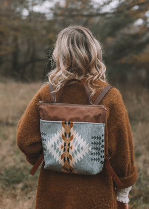 Tofino Tan Canvas Backpack | Orion