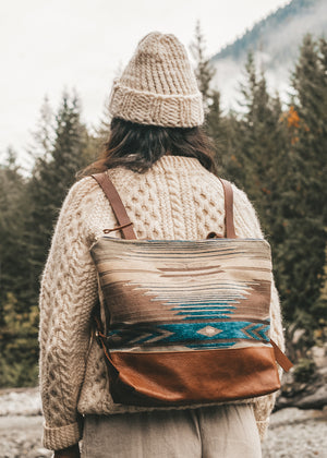 Voyageur Backpack | 04 Peyote Sky
