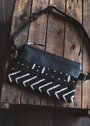 Avalon Boho Belt Bag - Mudcloth