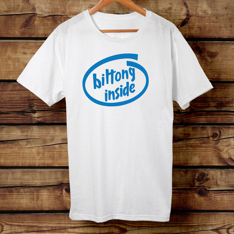 Biltong Inside Funny Tshirt | Big Game Biltong New Zealand