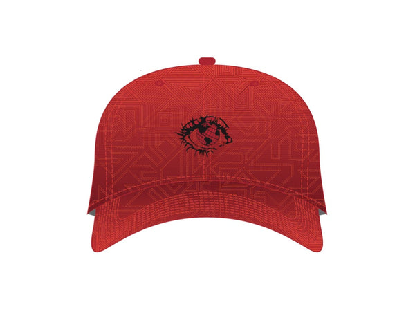 EYE CAN UNITE X GRASSROOTS STRAP BACK - RED