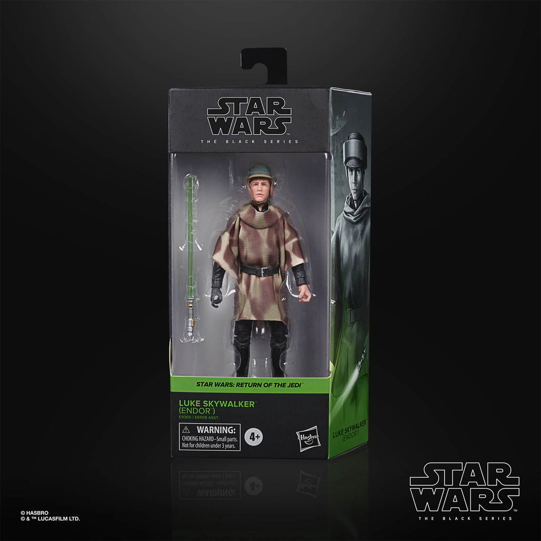 Star Wars The Black Series : Luke Endor