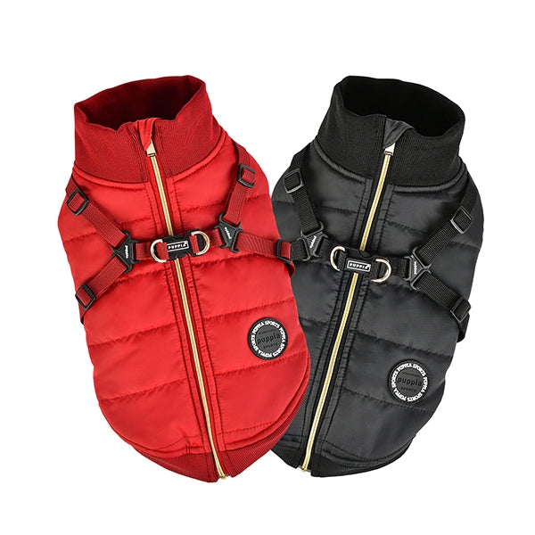 PUPPIA Frost Winter Active Dog Harness Coat All Colors