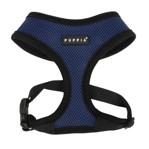 PUPPIA Soft Collar Air Mesh Adjustable Dog Harness — Royal Blue