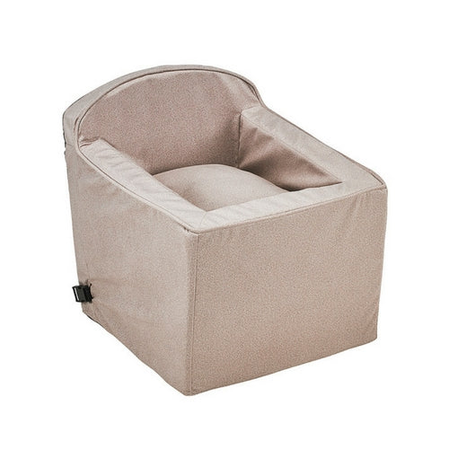 Bowsers Pet Products Booster Dog Car Safety Seat — Sandstone