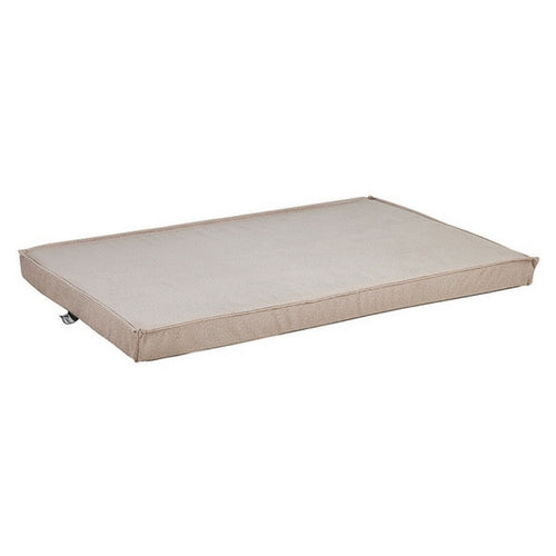 Bowsers MicroVelvet Cool Gel Memory Foam Mattress Crate Pad — Sandstone