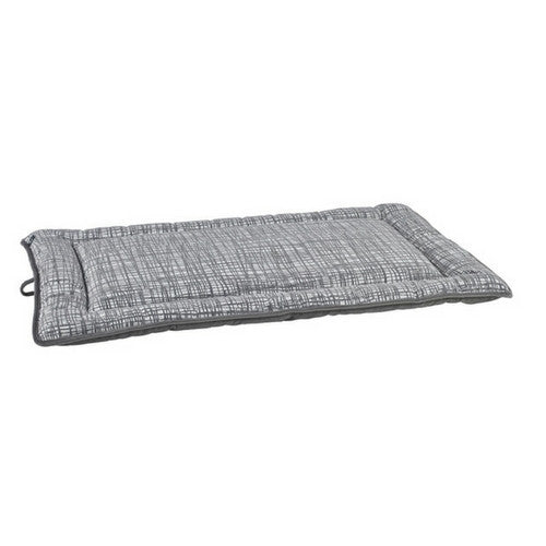 Bowsers Jacquard MicroVelvet Cosmopolitan Mat Travel Dog Bed — Tribeca