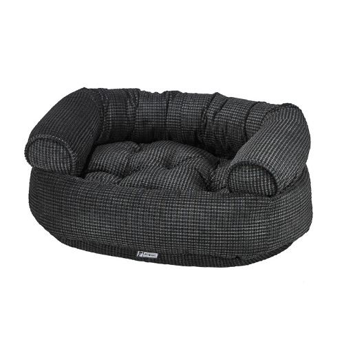 Bowsers Chenille Double Donut Bolstered Nest Dog Bed — Iron Mountain
