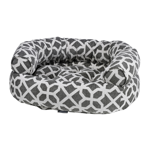 Bowsers Pet Chenille Double Donut Bolstered Nesting Dog Bed — Palazzo
