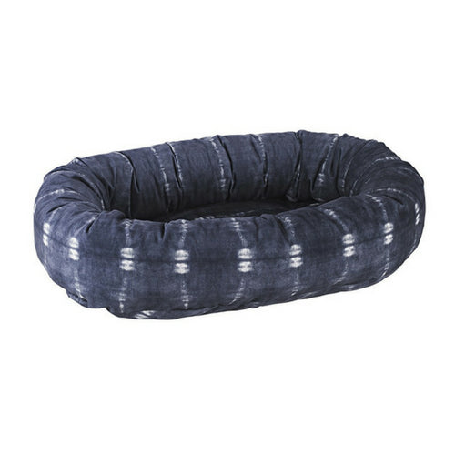 Bowsers Pet MicroVelvet Donut Bolstered Nesting Dog Bed — Bali