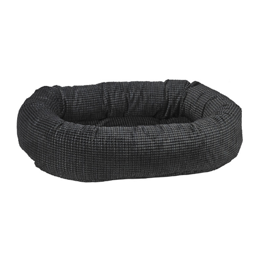 Bowsers Pet Chenile Donut Bolstered Nesting Dog Bed — Iron Mountain
