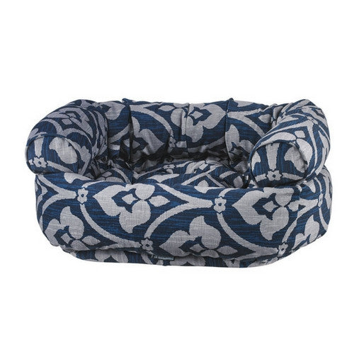 Bowsers MicroVelvet Double Donut Bolstered Nesting Dog Bed — Regency