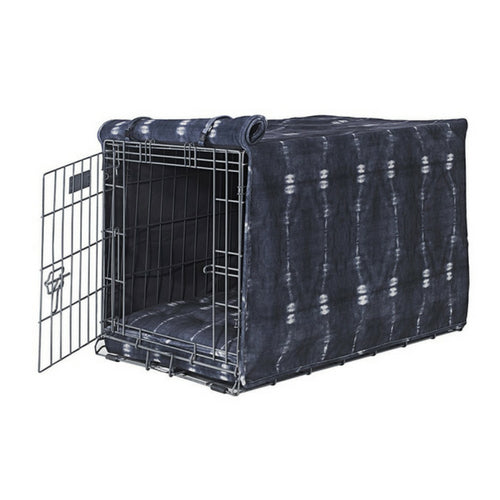 Bowsers Pet MicroVelvet Luxury Dog Crate Cover — Bali