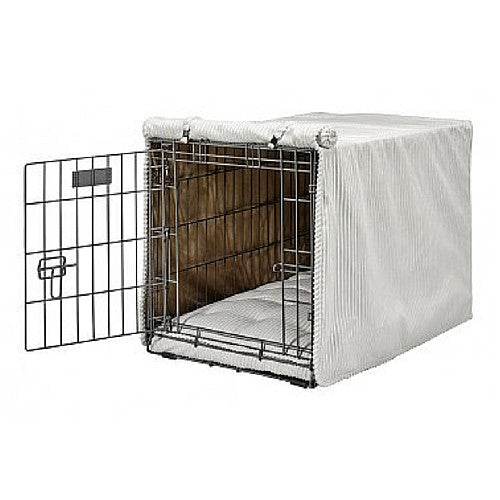 Bowsers Pet Products MicroCord Luxury Dog Crate Cover — Marshmallow