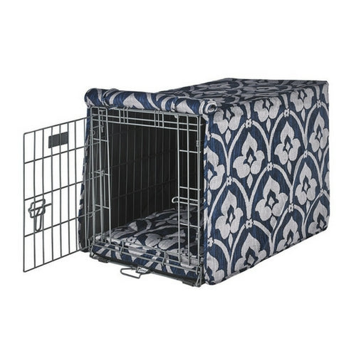 Bowsers Pet MicroVelvet Luxury Dog Crate Cover — Regency