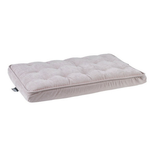Bowsers Pet MicroVelvet Luxury Dog Crate Mattress Pad — Blush Pink