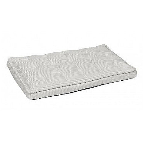 Bowsers Pet MicroCord Luxury Dog Crate Mattress Pad — Marshmallow