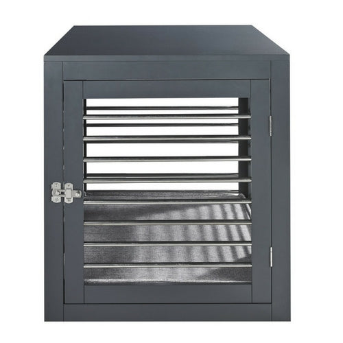 Bowsers Pet Products Moderno Contemporary Dog Crate Front Door View