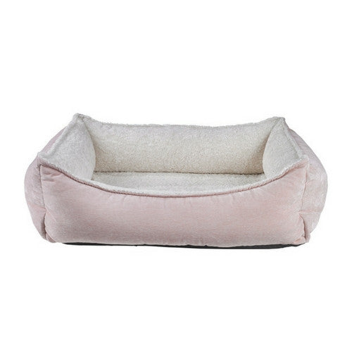 Bowsers Oslo Ortho Cool Gel Memory Foam Nesting Dog Bed — Blush