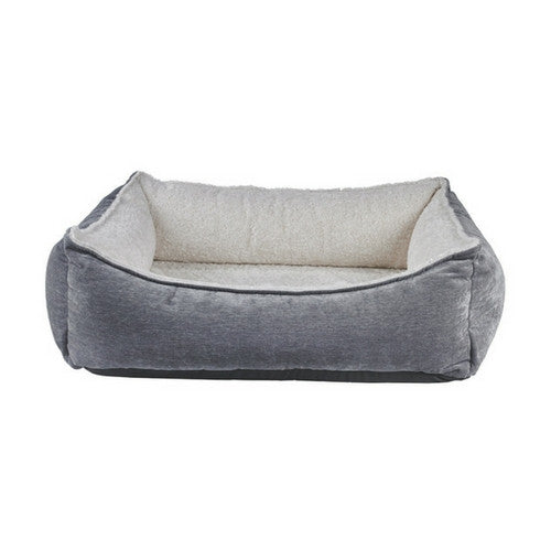Bowsers Oslo Ortho Cool Gel Memory Foam Nesting Dog Bed — Pumice