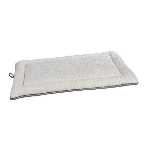 Bowsers Pet Cosmopolitan Mat Travel Dog Bed — Faux Sheepskin Ivory