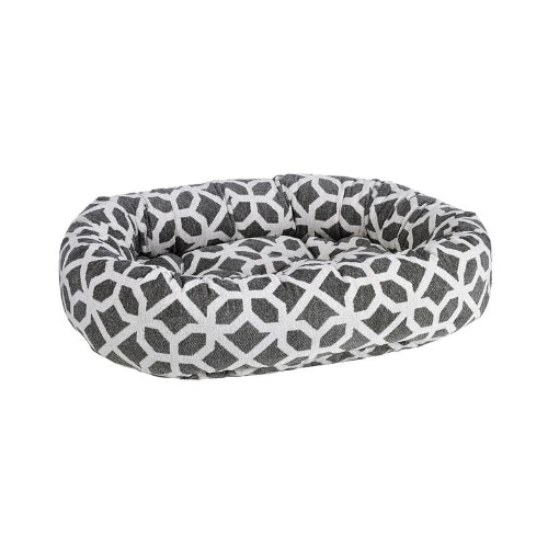 Bowsers Pet Chenile Donut Bolstered Nesting Dog Bed — Palazzo