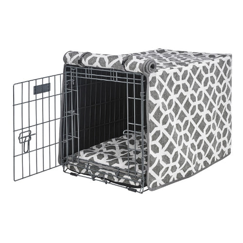 Bowsers Pet Products Chenille Luxury Dog Crate Cover — Palazzo