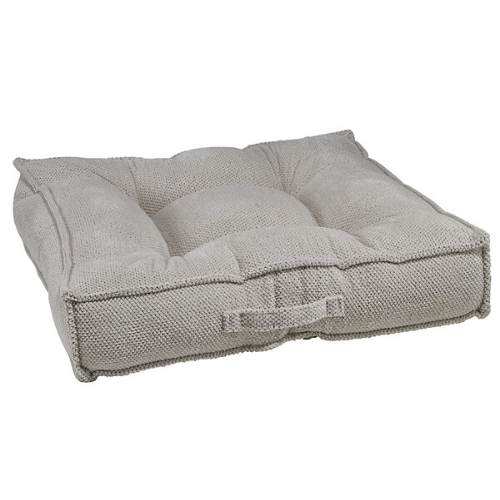 Bowsers Pet Chenille Tufted Square Piazza Nesting Dog Bed — Aspen