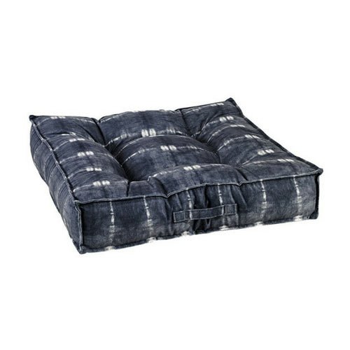 Bowsers MicroVelvet Tufted Square Piazza Nesting Dog Bed —Bali