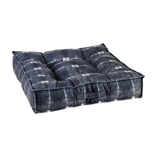 Bowsers Pet Microvelvet Tufted Square Piazza Nesting Dog Bed — Bali