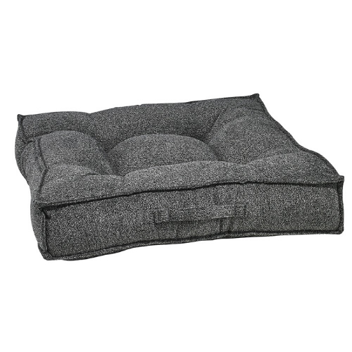 Bowsers Pet Chenille Tufted Square Piazza Nesting Dog Bed — Castlerock
