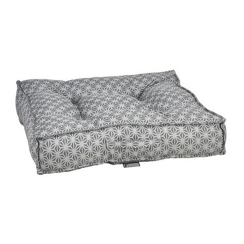 Bowsers Pet Jacquard Tufted Square Piazza Nesting Dog Bed — Mercury