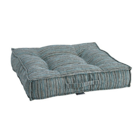 Chenille Square Piazza Dog Bed — Teaka