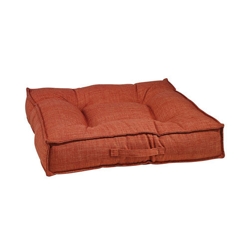 Bowsers MicroLinen Tufted Square Piazza Nest Dog Bed — Tucson