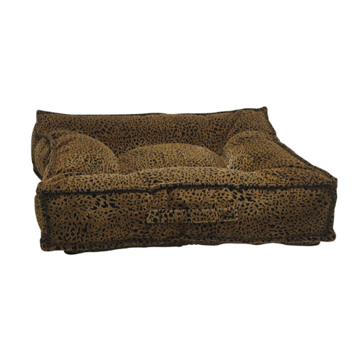 Bowsers MicroVelvet Tufted Square Piazza Nesting Dog Bed — Urban Animal