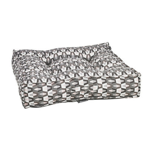 Bowsers Pet Jacquard Tufted Square Piazza Nesting Dog Bed — Venus
