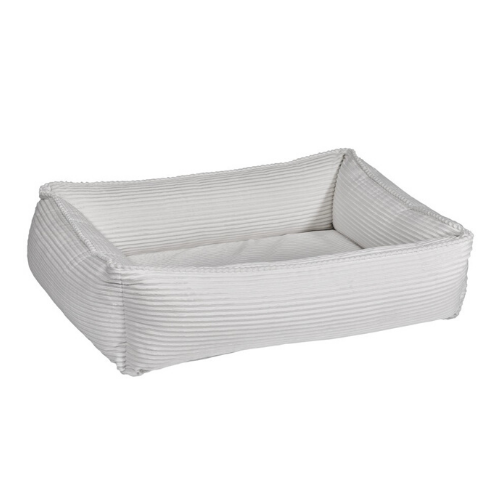 Bowsers MicroCord Urban Lounger Rectangle Nest Dog Bed — Marshmallow