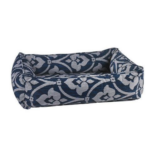 Bowsers Pet MicroVelvet Urban Lounger Rectangle Nest Dog Bed — Regency